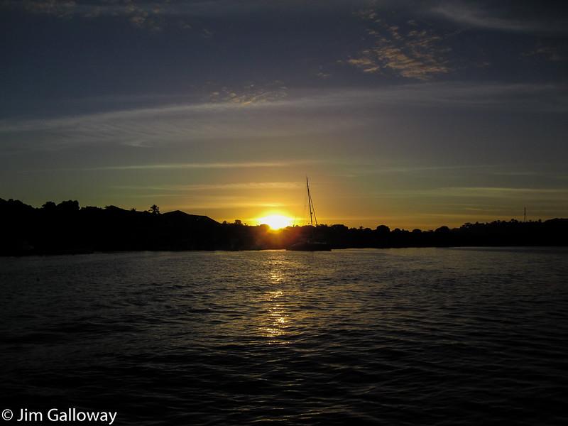 Sunset over Helville