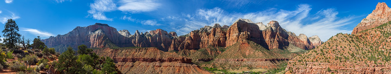 The view near the Watchman Trail Loop.