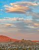 cloudscape over the desert