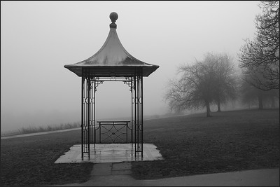 The cupola. Hampstead Heath