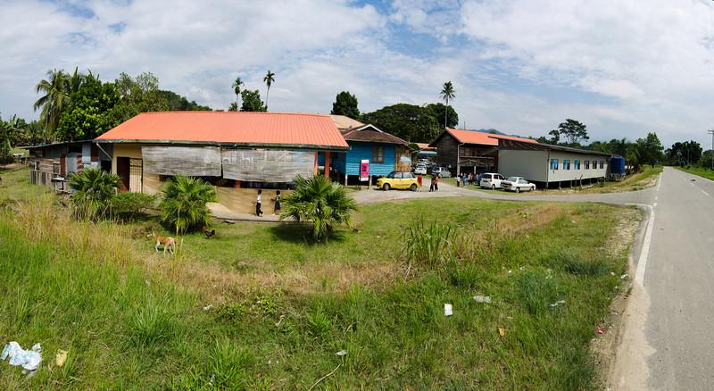 SK Kemabong, Tenom, Sabah - Stitched Panorama