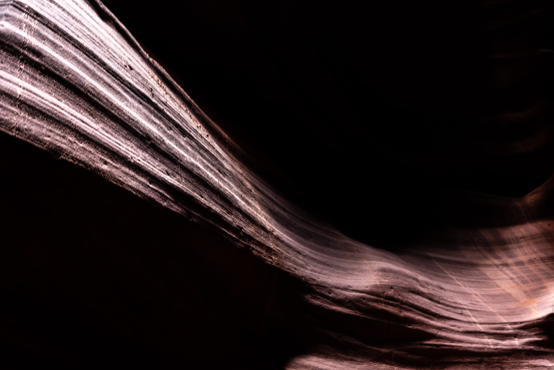 Antelope Canyon wall wave, Arizona