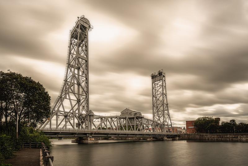 Bridge 13 Under Stormy Skies - Welland