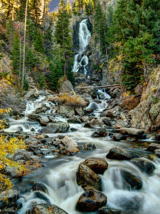 Steamboat Springs, Colorado's Fish Creek Falls Limited Edition by Kat Walsh Photography
