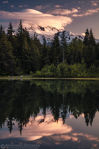 Cloud Capped Mount Hood