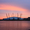 Millenium Dome sunrise