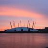 Millenium Dome sunrise