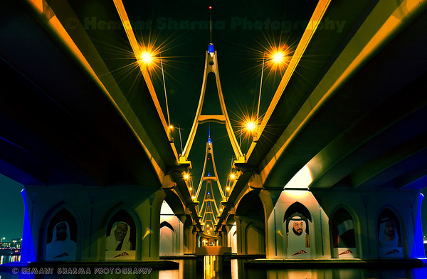 Business Bay bridge revisited,,,,,,,,,,,,,,,,,,at 8.30pm in the evening.....