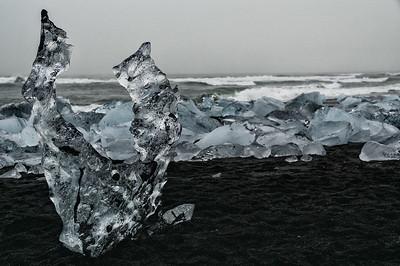 Diamond Beach Sculpture