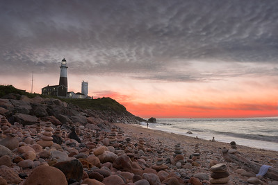 Montauk Point Lighthouse at Sunrise