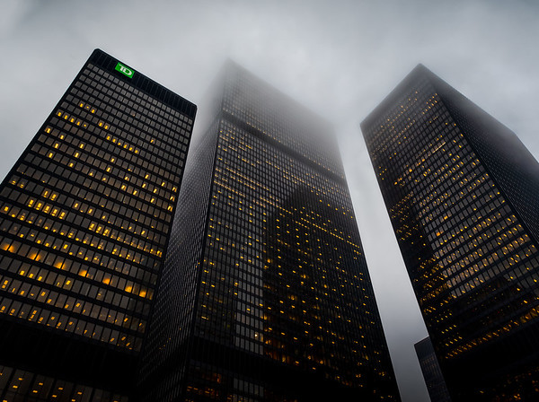TD Towers in Toronto