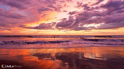 Jaco Beach, Costa Rica Sunset December 21, 2013