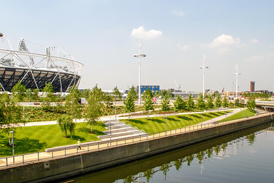 Queen Elizabeth Olympic Park, London