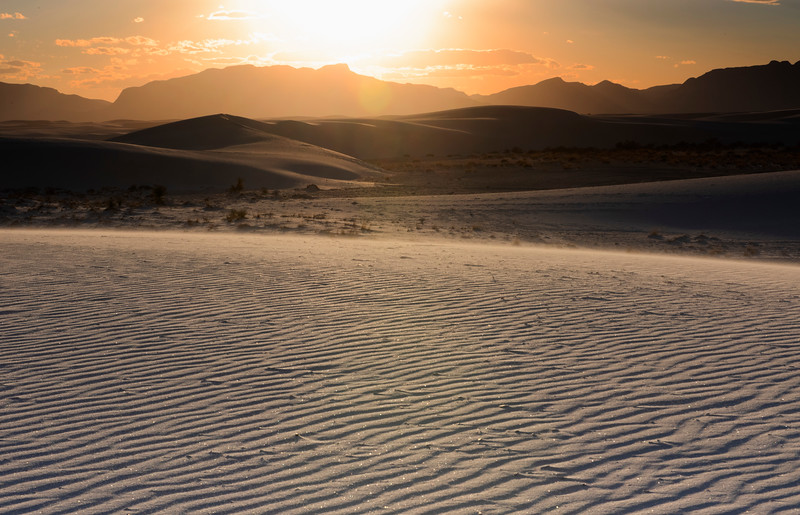 White Sands NM Sunset
