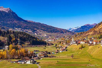 Savognin, Graubünden, Switzerland