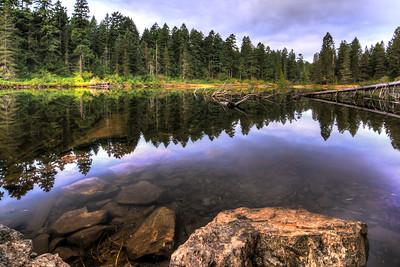 Spectacle Lake Morning