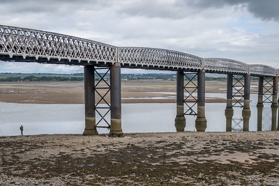 South Esk Viaduct, Montrose, Scotland