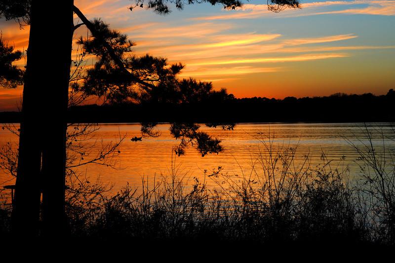 Sunset Lone Star Lake Lone Star TX