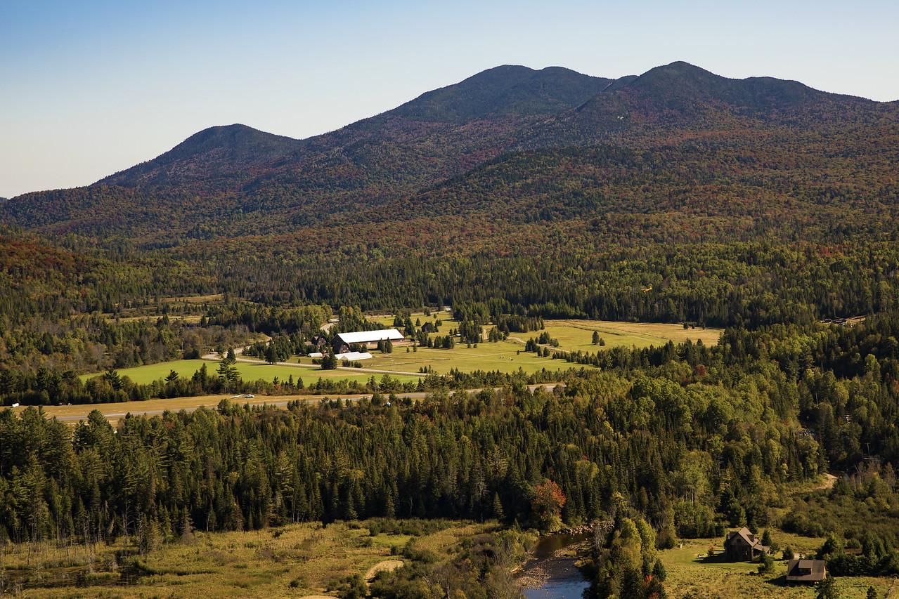 Mountains in Lake Placid
