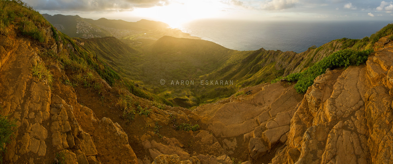 Kokohead Sunrise Panoramic