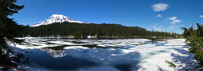 Mt Rainier from Reflection Lake, Rainier National Park