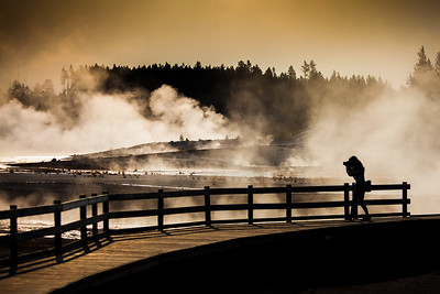 Yellowstone National Park Geysers