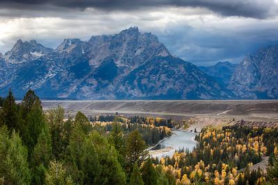 Grand Tetons - Snake River Overlook