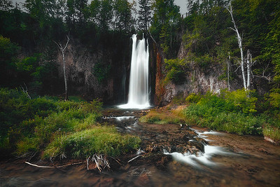 Spearfish Falls, Spearfish Canyon, South Dakota,
