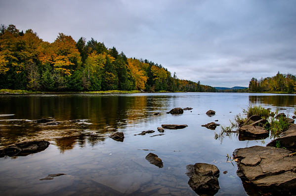 Calabogie Fall Reflections after Sunrise