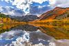 North Lake Fall colors reflections