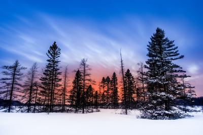 Happiness is ... Hiking into the Backcountry for Blue Hour