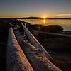 Sunset at Saltspring Island