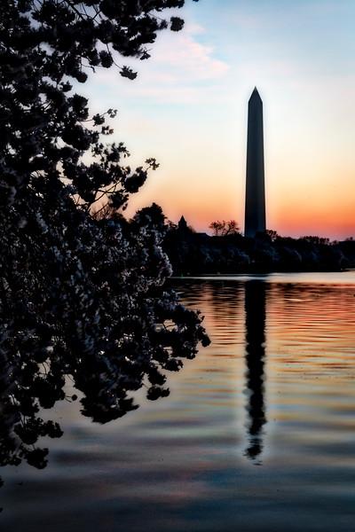 Washington Monument HDR