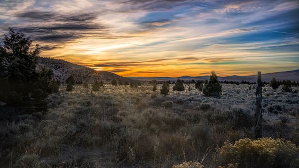 SouthEast Oregon Sunset
