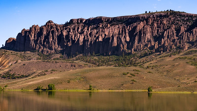 The Dillon Pinnacles near Blue Mesa Reservoir