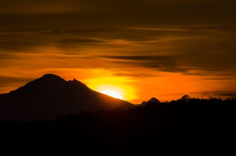 Mount Baker Sunrise, Goldstream