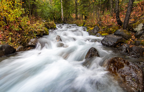 Fast Moving Creek, Eagle River, Alaska