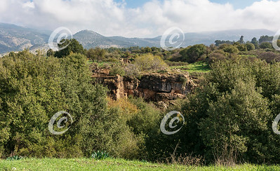Nimrod Fortress from Banyas