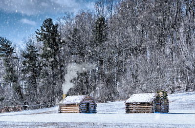 Winter Colonial Cabins