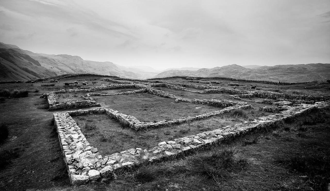 Hard Knott Roman fort