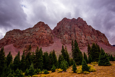Red Castle Peak, UT