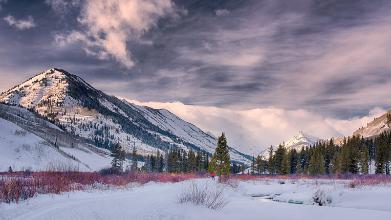 Slate River Winter