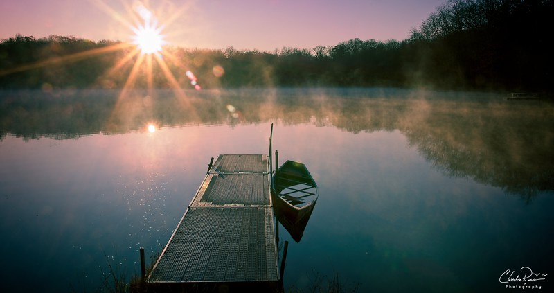 Locust lake Dawn
