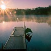 Locust lake Dawn