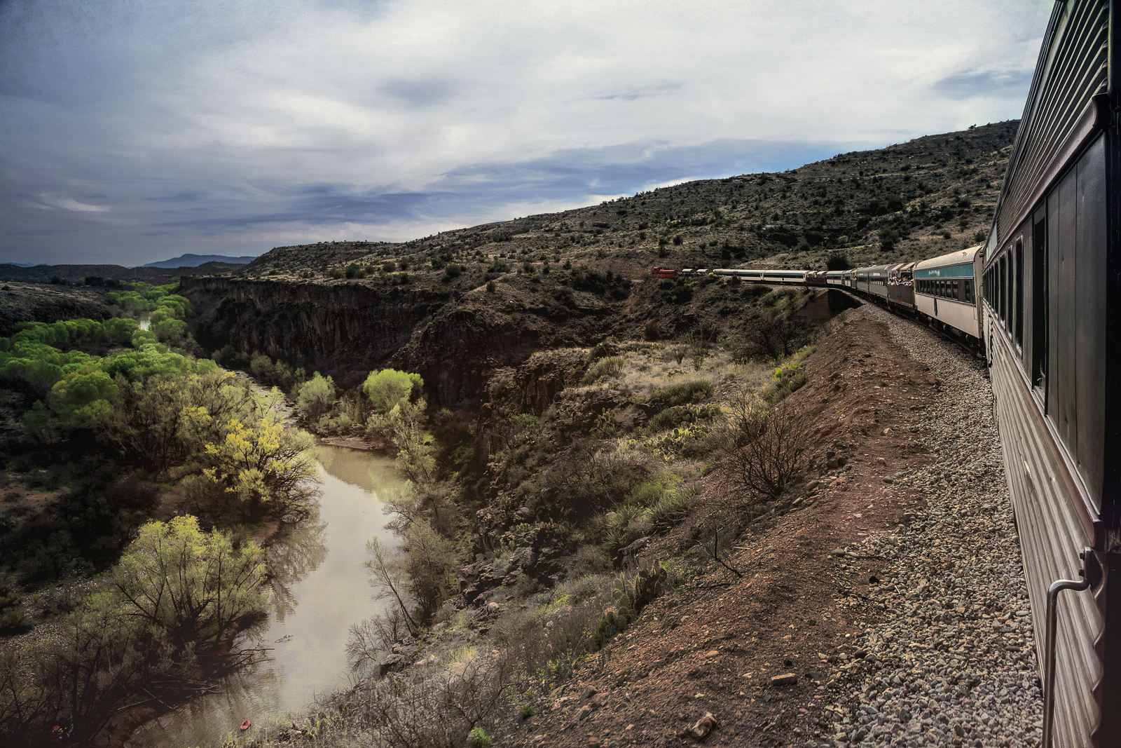 Verde River Verde Canyon Valley Railroad