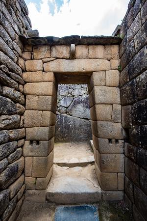 Stonework at Machu Picchu