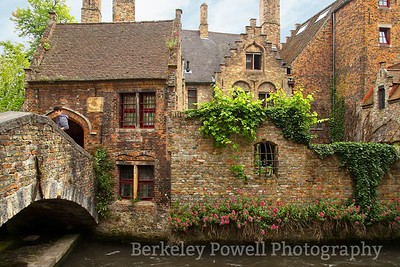 Canal View of Medieval Houses
