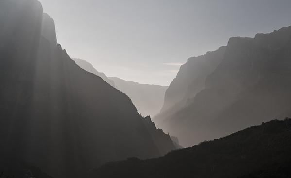 Vikos Gorge at sunrise, Greece