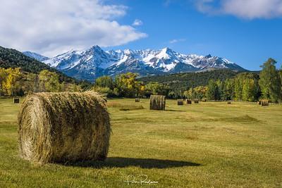 Fall Hay Bales