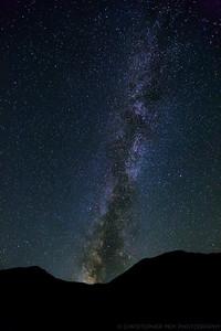 Milky Way at Mono Lake